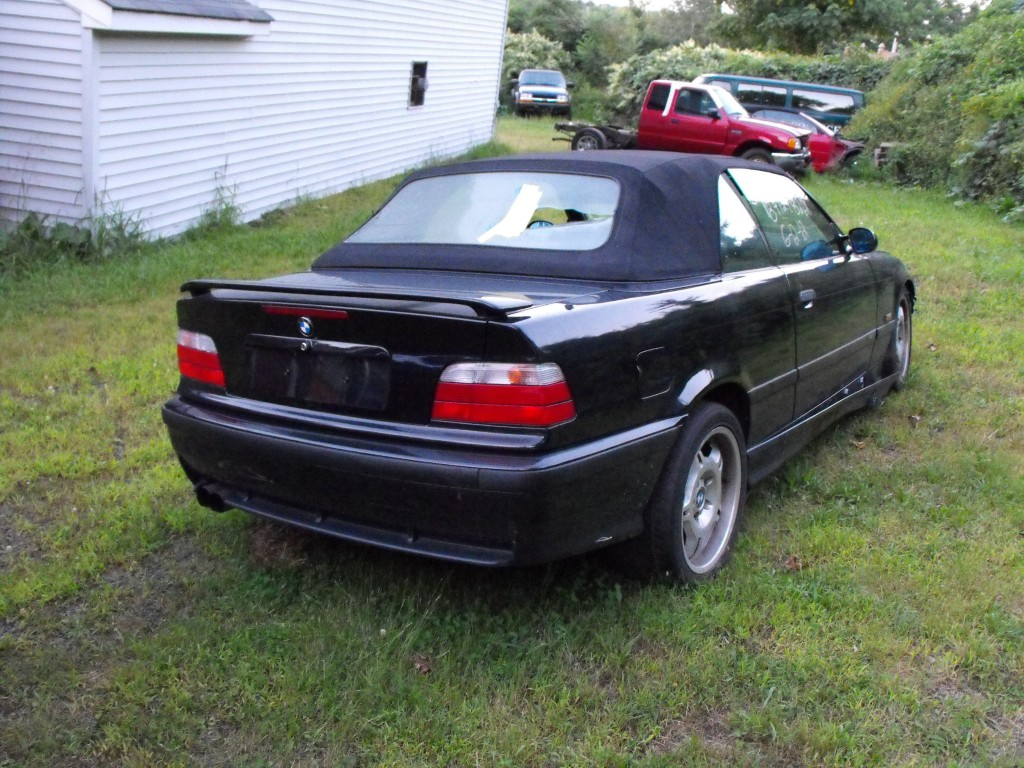 E36 Parting Out 99 M3 Convertible Black Black Low Miles